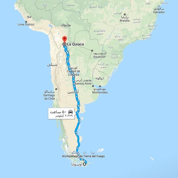 De Ushuaia a La Quiaca اثری از گوستاوو سانتائولایا؛ سفری به سرزمین نقره