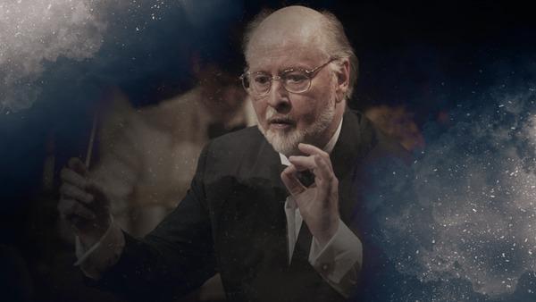 جان ویلیامز در حال رهبری ارکستر