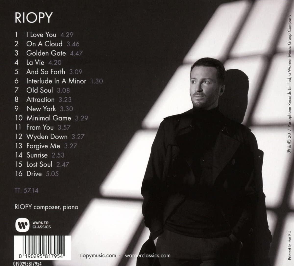کاور پشت آلبوم RIOPY از ریوپی