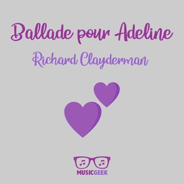 Ballade pour Adeline (چکامهای برای آدلین) رنگین کمانی از احساسات